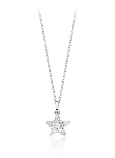 Tophills Diamond Co. 1,40 Ct Pırlanta Efekt  Altın Orıon Kolye Renkli